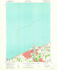 Download a high-resolution, GPS-compatible USGS topo map for Ashtabula North, OH (1961 edition)