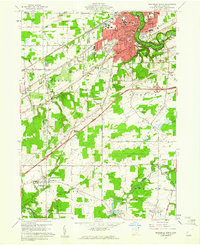 Download a high-resolution, GPS-compatible USGS topo map for Ashtabula South, OH (1961 edition)