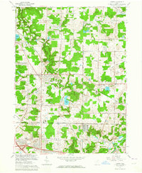 Download a high-resolution, GPS-compatible USGS topo map for Aurora, OH (1964 edition)