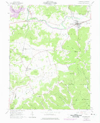 Download a high-resolution, GPS-compatible USGS topo map for Bainbridge, OH (1975 edition)
