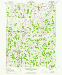 Download a high-resolution, GPS-compatible USGS topo map for Baltic, OH (1963 edition)