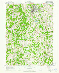 Download a high-resolution, GPS-compatible USGS topo map for Barnesville, OH (1963 edition)