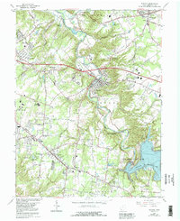 Download a high-resolution, GPS-compatible USGS topo map for Batavia, OH (1992 edition)