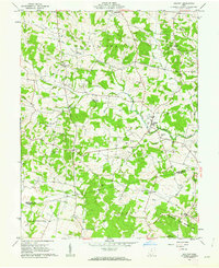 Download a high-resolution, GPS-compatible USGS topo map for Belfast, OH (1962 edition)
