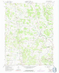 Download a high-resolution, GPS-compatible USGS topo map for Belfast, OH (1992 edition)