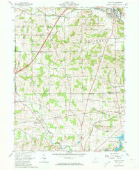 Download a high-resolution, GPS-compatible USGS topo map for Bellville, OH (1973 edition)