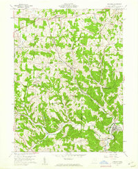 Download a high-resolution, GPS-compatible USGS topo map for Bergholz, OH (1961 edition)