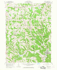 Download a high-resolution, GPS-compatible USGS topo map for Bergholz, OH (1968 edition)