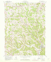Download a high-resolution, GPS-compatible USGS topo map for Bergholz, OH (1972 edition)