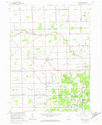 Download a high-resolution, GPS-compatible USGS topo map for Berkey, OH (1982 edition)