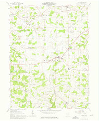 Download a high-resolution, GPS-compatible USGS topo map for Berlin, OH (1976 edition)