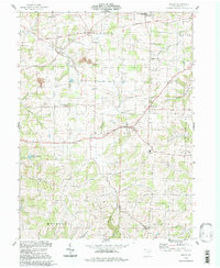Download a high-resolution, GPS-compatible USGS topo map for Berlin, OH (1998 edition)