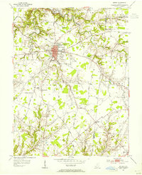 Download a high-resolution, GPS-compatible USGS topo map for Bethel, OH (1955 edition)