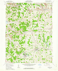 Download a high-resolution, GPS-compatible USGS topo map for Bethesda, OH (1962 edition)