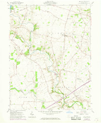 Download a high-resolution, GPS-compatible USGS topo map for Big Plain, OH (1968 edition)
