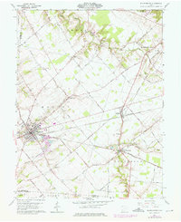 Download a high-resolution, GPS-compatible USGS topo map for Blanchester, OH (1976 edition)