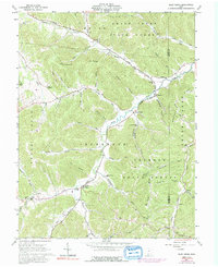 Download a high-resolution, GPS-compatible USGS topo map for Blue Creek, OH (1992 edition)