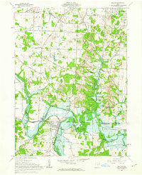 Download a high-resolution, GPS-compatible USGS topo map for Bolivar, OH (1963 edition)