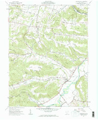 Download a high-resolution, GPS-compatible USGS topo map for Bourneville, OH (1962 edition)