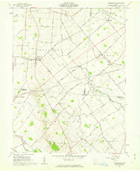 Download a high-resolution, GPS-compatible USGS topo map for Bowersville, OH (1963 edition)