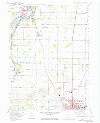 Download a high-resolution, GPS-compatible USGS topo map for Bowling Green North, OH (1976 edition)