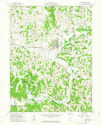 Download a high-resolution, GPS-compatible USGS topo map for Bremen, OH (1963 edition)