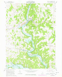 Download a high-resolution, GPS-compatible USGS topo map for Brinkhaven, OH (1978 edition)