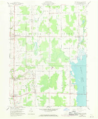 Download a high-resolution, GPS-compatible USGS topo map for Bristolville, OH (1971 edition)