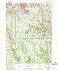 Download a high-resolution, GPS-compatible USGS topo map for Broadview Heights, OH (1971 edition)