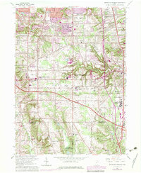 Download a high-resolution, GPS-compatible USGS topo map for Broadview Heights, OH (1979 edition)