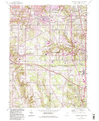 Download a high-resolution, GPS-compatible USGS topo map for Broadview Heights, OH (1997 edition)