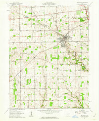 Download a high-resolution, GPS-compatible USGS topo map for Brookville, OH (1962 edition)