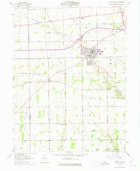 Download a high-resolution, GPS-compatible USGS topo map for Brookville, OH (1975 edition)