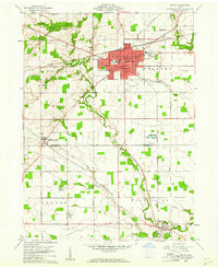 Download a high-resolution, GPS-compatible USGS topo map for Bryan, OH (1961 edition)
