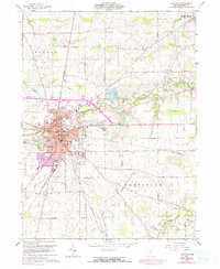 Download a high-resolution, GPS-compatible USGS topo map for Bucyrus, OH (1990 edition)