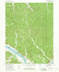 Download a high-resolution, GPS-compatible USGS topo map for Buena Vista, OH (1969 edition)