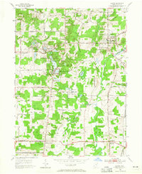Download a high-resolution, GPS-compatible USGS topo map for Burton, OH (1965 edition)