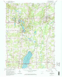 Download a high-resolution, GPS-compatible USGS topo map for Burton, OH (1968 edition)