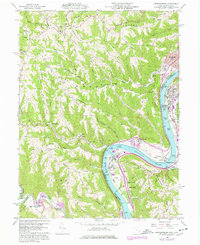 Download a high-resolution, GPS-compatible USGS topo map for Businessburg, OH (1977 edition)