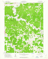 Download a high-resolution, GPS-compatible USGS topo map for Byer, OH (1963 edition)
