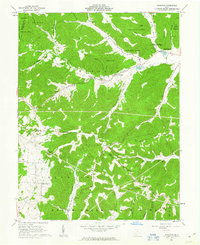 Download a high-resolution, GPS-compatible USGS topo map for Byington, OH (1963 edition)