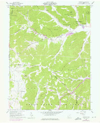 Download a high-resolution, GPS-compatible USGS topo map for Byington, OH (1976 edition)