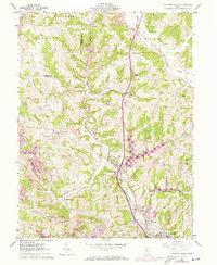 Download a high-resolution, GPS-compatible USGS topo map for Caldwell North, OH (1973 edition)