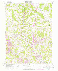 Download a high-resolution, GPS-compatible USGS topo map for Caldwell North, OH (1977 edition)