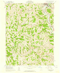 Download a high-resolution, GPS-compatible USGS topo map for Caldwell South, OH (1962 edition)