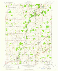 Download a high-resolution, GPS-compatible USGS topo map for Caledonia, OH (1962 edition)