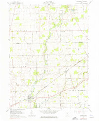 Download a high-resolution, GPS-compatible USGS topo map for Caledonia, OH (1976 edition)
