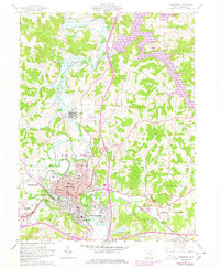 Download a high-resolution, GPS-compatible USGS topo map for Cambridge, OH (1978 edition)