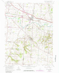 Download a high-resolution, GPS-compatible USGS topo map for Canal Winchester, OH (1985 edition)