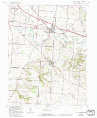 Download a high-resolution, GPS-compatible USGS topo map for Canal Winchester, OH (1994 edition)